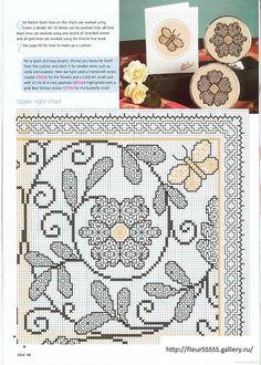 Elizabethan Garden, Part 2 {{Gallery. Motifs Blackwork, Blackwork Cross Stitch, Biscornu Cross Stitch, Blackwork Embroidery, Cross Stitch Pillow, Hand Work Embroidery, Cross Stitch Heart, Diy Embroidery, Cross Stitch Flowers