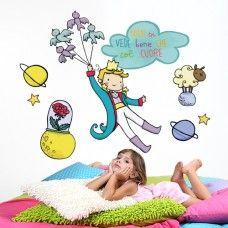 Il Piccolo Principe adesivo murale by Violinoviola The Little Prince wallsticker by Violinoviola