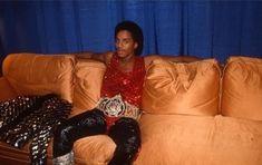 Marlon Jackson Red Leather, Leather Jacket, Jackson Family, Jackets, Fashion, Studded Leather Jacket, Down Jackets, Moda, Leather Jackets