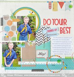 Do Your Best - Scrapbook.com