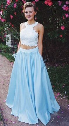 Prom Dresses Ball Gown, Two Piece Prom Dress,Lace Top Prom Dresses with Pockets, from the ever-popular high-low prom dresses, to fun and flirty short prom dresses and elegant long prom gowns. Homecoming Dresses Long, Gold Prom Dresses, Prom Dresses Two Piece, Long Prom Gowns, Women's Evening Dresses, Party Dresses, Dress Prom, Grad Dresses, Shower Dresses