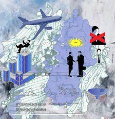 Art like Stanley Donwood by Me...Like Radiohead album covers