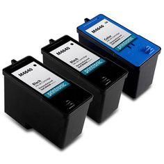 3 Pack Compatible  Dell M4640/Series 5 High Capacity Black Ink Cartridge and High Capacity Color Ink Cartridge Dell M4646/Series 5 - http://dot-www.com/3-pack-compatible-dell-m4640series-5-high-capacity-black-ink-cartridge-and-high-capacity-color-ink-cartridge-dell-m4646series-5/