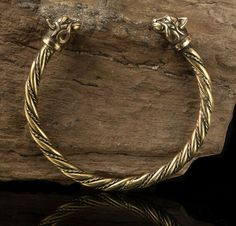 CAITLIN Celtic Cat Bracelet Brass Bronze Cats by WulflundJewelry