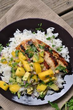 Cilantro-Lime Chicken with a Mango Avocado Salsa. More than usual, I have a case of the Sundays. A super fun weekend is coming to a close and it's making me very grateful that I scheduled myself on PTO Wednesday afternoon for a little mom time.  #chickenrecipes #dinnerrecipes #healthyrecipes #recipes #foodrecipes #easyrecipes #simplerecipes #quickrecipes #cheaprecipes #goodrecipes #bestrecipes #latestrecipes #newrecipes #recipesideas #simplefoodrecipes #cookingrecipes