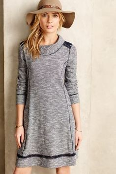 Saturday/Sunday Spacedye Laced Swing Dress #anthrofave