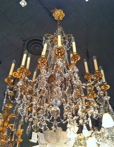 Things That Inspire: I finally found a dining room chandelier!