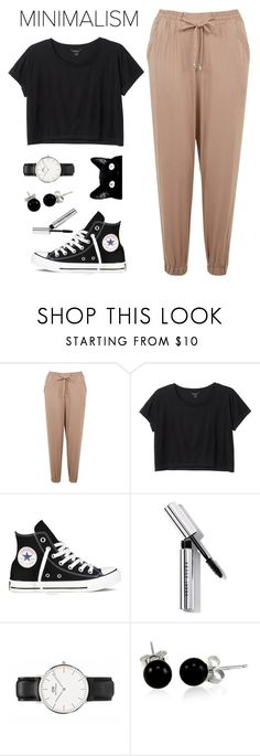 """""""Senza titolo #275"""" by laurettered ❤ liked on Polyvore featuring Supersonic, Monki, Converse, Bobbi Brown Cosmetics and Bling Jewelry"""