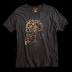 Lucky Brand by BMD ... Bordeaux, France | Calligraphy | Landscape Design | Typography | T-shirt |