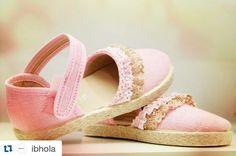 Muchas gracias de nuevo #Ibhola por estas fotos de zapatos de niña de nuestra nueva colección. ¡Ya está aquí la #primavera y muy pronto el veranito!