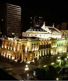 Teatro Municipal - São Paulo.