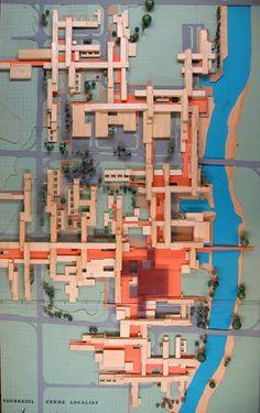 ciudad de nueva planta de Le Vaudreuil, proyecto de Atelier du Montrouge