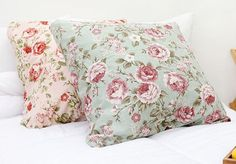 Romantic Roses Pattern Cotton Fabric.  Been looking for fabric like this...