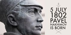 5 July Admiral Pavel Nakhimov is born High School Students, Student Learning, History, Historia, History Activities
