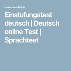 Einstufungstest deutsch | Deutsch online Test | Sprachtest