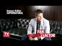 Supernatural - TV Guide Interview with Jared, Jensen & Misha [Extended Version] HD
