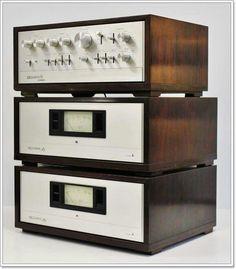 Hi End, Recording Equipment, Wooden Case, Audiophile, Retro, Gadgets, Technology, Vintage, Tech