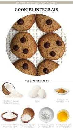 Fit Chef: Cookies Integrais | CAROL BUFFARA