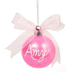 Nicole™ Crafts Personalized Ornament