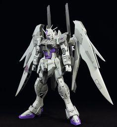 MG 1/100 Impulse Gundam Blanche - Customized Build     Modeled by Coffeee