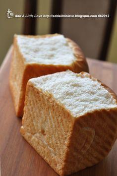 Add A Little Love: White Sandwich Bread Made with Milk