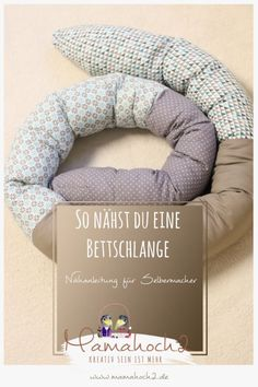 Bettschlange . Bettschlange selber nähen . Kopfschutz für Babys 24
