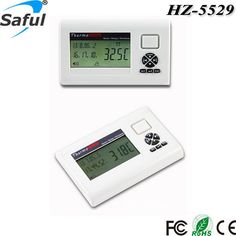 New Thermometer 433 MHz LCD display -50~ +199 degree wireless Temperature alarm Sensor can work with alarm system #men, #hats, #watches, #belts, #fashion