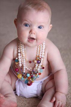 It's Never To Early To Wear Anna Balkan Jewelry! #BeBeautifulBeYou