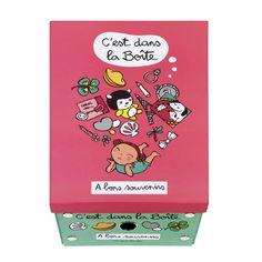 Boîte de rangement A bon souvenirs - Derrière la Porte DLP - Décoration pratique et boite de rangement/Boîte derrière la porte - espritlogis...