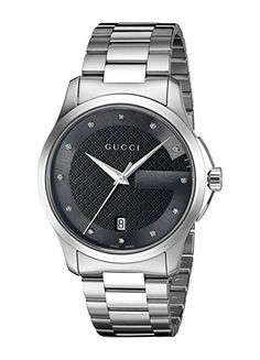 224d55b062c Gucci  G-Timelss  Quartz Stainless Steel Silver-Toned Watch(Model