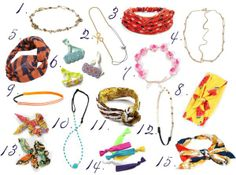Spice up your look with hair accessories!
