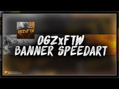 Speedart: @OGZxFTW Banner Speedart | By RemainFocus - YouTube