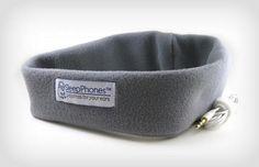 Sleephones for travel and winter running