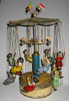 """1890 """"Chain Carousel"""".  Learn about your collectibles, antiques, valuables, and vintage items from licensed appraisers, auctioneers, and experts http://www.bluevaultsecure.com/roadshow-events.php"""