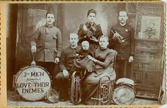 Salvation Army band, late 18C