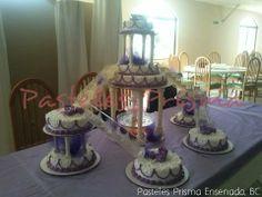 Pastel para XV años o boda