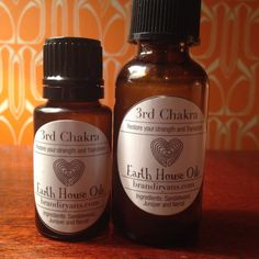 3rd Chakra Restore your Strength and Transform. by EarthHouseOils, $12.00