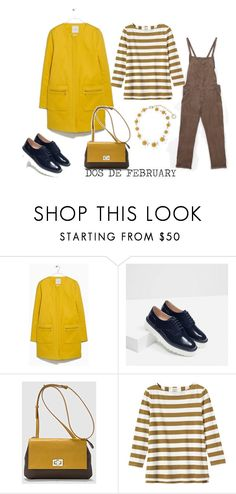 """DOS DE FEBRUARY"" by aliciagorostiza on Polyvore featuring moda, Zara, Toast, Dolce&Gabbana, women's clothing, women, female, woman, misses y juniors"