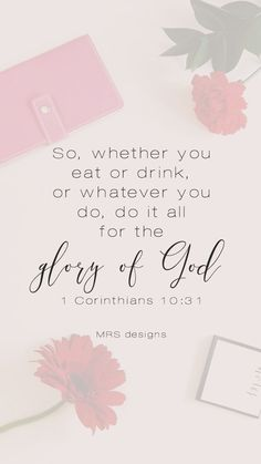 Lock Screen For the Glory of God | Free | Faith | Verse | Bible | Inspiration | Quotes | MRS designs