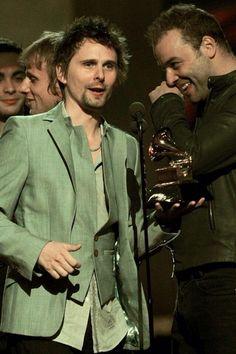 Matt, Chris and Dom #Muse #Awards