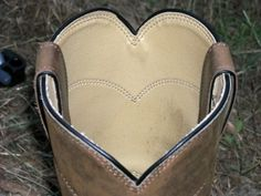 """<3Could be cute with two boots or four boots with """"I DO"""" or something else, names maybe, written inside"""