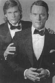 Alan Spaulding (right) along with Phillip Spaulding from Guiding Light. The actor who played Alan was one of the greatest villains of all time.