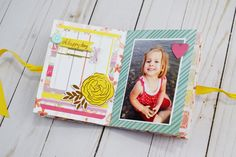 Hello We R Memory Keepers friends and fans, Becki here, to share a beach themed mini album with you that I created with the Stitch Happy Sewing Machine and the Frame Punch board. I loved both of th… Snail Mail Flipbook, Mini Albums Scrap, Mini Album Tutorial, We R Memory Keepers, Punch Board, Mail Art, Beach Themes, Summertime, Stitch