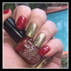 Girly Bits Little Red Toque and Fun Lacquer King