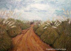 CAMINO A PUNTA RASA Painting, Art, Poppies, Drive Way, Scenery, Paintings, Art Background, Painting Art, Kunst