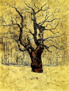 Eken, The Oak  - Edvard Munch 1903 Norwegian 1863-1944