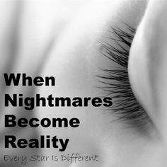 When nightmares become reality while parenting a child with Reactive Attachment…