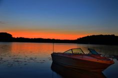 Otter Lake, Michigan | Pure Michigan, on Flickr, courtesy of photographer Gerry Beth Bunkel.