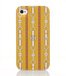 Tory Burch equine inspired iphone cover -