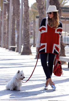 sweater & dog